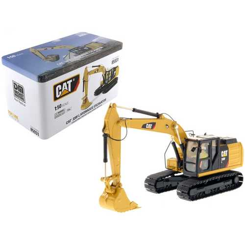 CAT Caterpillar 320F L Hydraulic Excavator with Operator High Line Series 1/50 Diecast Model by Diecast Masters