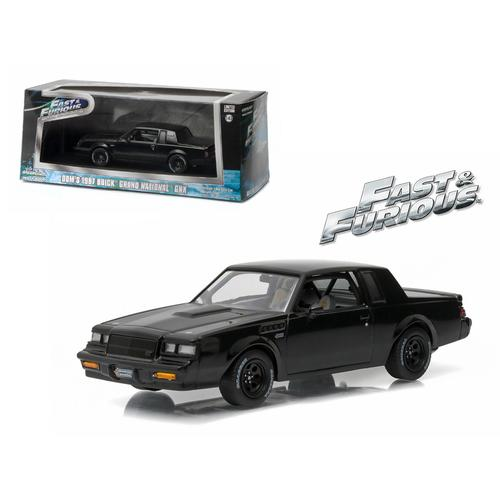 "Dom's 1987 Buick Grand National GNX ""The Fast and the Furious"" Movie (2009) 1/43 Diecast Model Car by Greenlight"