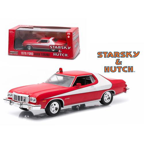 "1976 Ford Gran Torino ""Starsky and Hutch"" TV Series (1975-79) 1/43 Diecast Model Car by Greenlight"