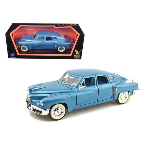 1948 Tucker Torpedo Blue 1/18 Diecast Model Car by Road Signature