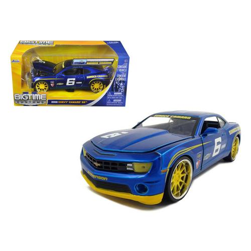 2010 Chevrolet Camaro SS #6 Sunoco 1/24 Diecast Car Model by Jada