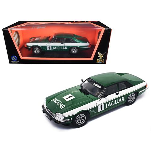 1975 Jaguar XJS Coupe Racing Green #1 1/18 Diecast Model Car by Road Signature