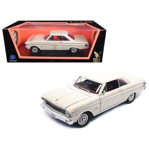 1964 Ford Falcon White 1/18 Diecast Model Car by Road Signature
