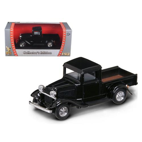 1934 Ford Pick Up Truck Black 1/43 Diecast Car Model by Road Signature