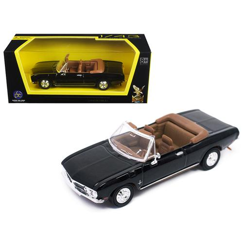 1969 Chevrolet Corvair Monza Black 1/43 Diecast Model Car by Road Signature