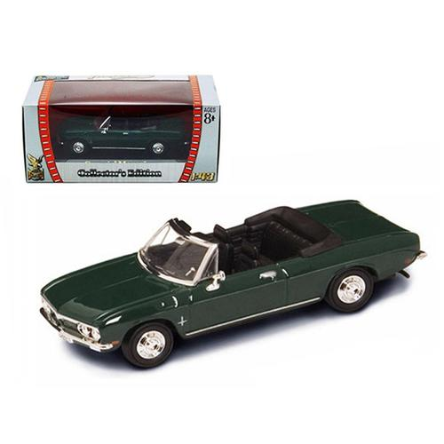 1969 Chevrolet Corvair Monza Green 1/43 Diecast Model Car by Road Signature