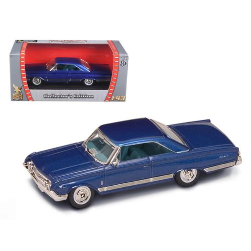 1964 Mercury Marauder Blue 1/43 Diecast Car by Road Signature