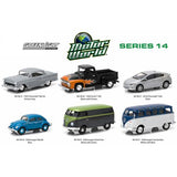 Motor World Series 14, 6pc Diecast Car Set 1/64 Diecast Model Cars by Greenlight