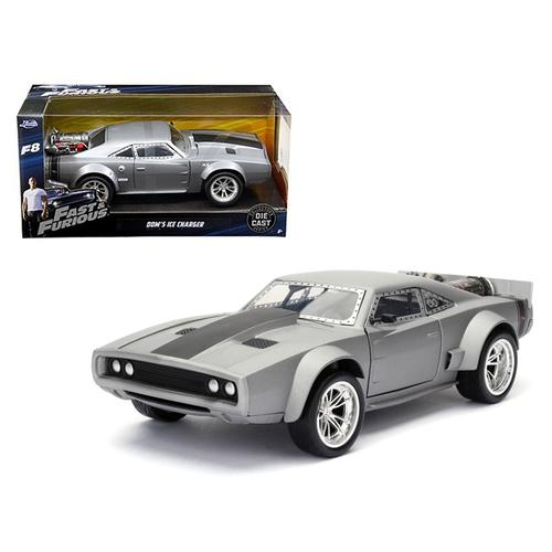"Dom's Ice Charger ""Fast & Furious"" F8 Movie 1/24 Diecast Model Car by Jada"