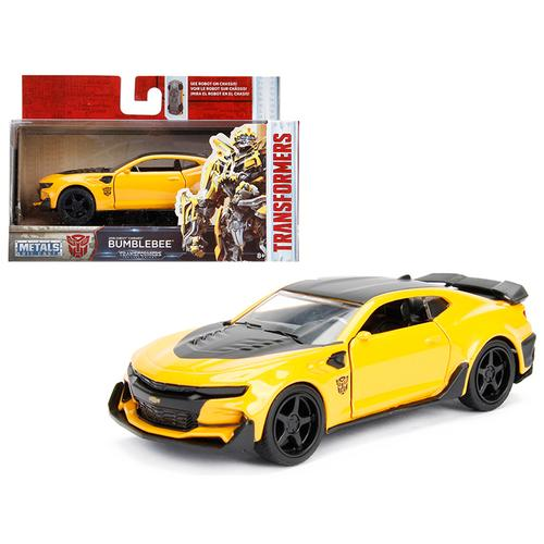 "2016 Chevrolet Camaro Bumblebee Yellow From ""Transformers 5"" Movie 1/32 Diecast Model Car by Jada"