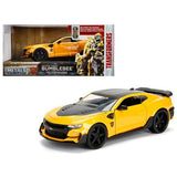 "2016 Chevrolet Camaro Bumblebee Yellow From ""Transformers"" Movie 1/24 Diecast Model Car by Jada Metals"