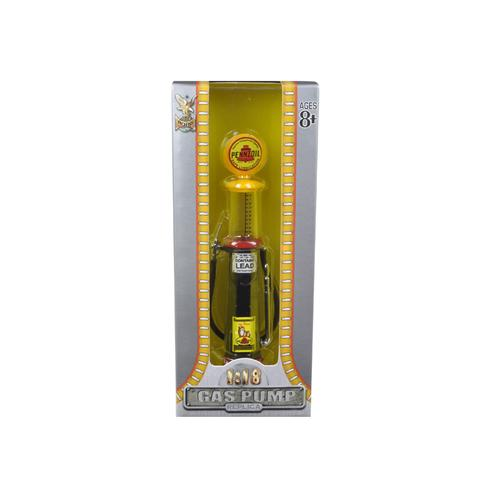 Pennzoil Gasoline Vintage Gas Pump Cylinder 1/18 Diecast Replica by Road Signature