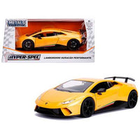 Lamborghini Huracan Perfomante Metallic Yellow 1/24 Diecast Model Car by Jada