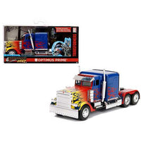 Optimus Prime Truck with Robot on Chassis from