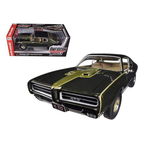 1969 Pontiac GTO Royal Bobcat/Royal Pontiac Limited to 1250pc 1/18 Diecast Car Model by Autoworld