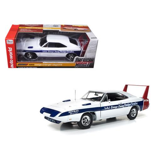 1969 Dodge Daytona LA & Orange County Dodge Dealers Cindy Lewis Car Culture Limited Edition to 1002pc 1/18 Diecast Model Car by Autoworld