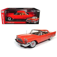 1957 Chrysler 300C Hemi Gauguin Red 60th Anniversary Limited Edition to 1002pc 1/18 Diecast Model Car by Autoworld