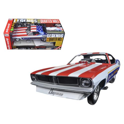 "Ron O'Donnell's 1970 Plymouth Cuda Funny Car ""Damn Yankee"" Limited Edition to 750pc Worldwide 1/18 Model Car by Autoworld"