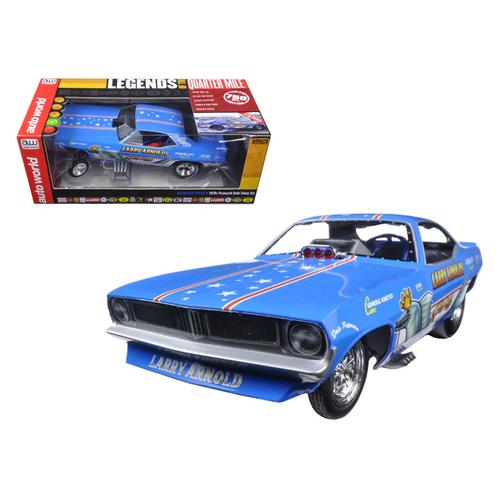 Larry Arnold's King Fish 1970's Plymouth Cuda Funny Car Limited Edition to 750pcs 1/18 Model Car by Autoworld
