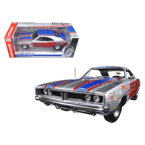 1969 Dodge Charger R/T 426 HEMI Dick Landy Limited Edition to 1002pcs  1/18 Diecast Model Car by Autoworld