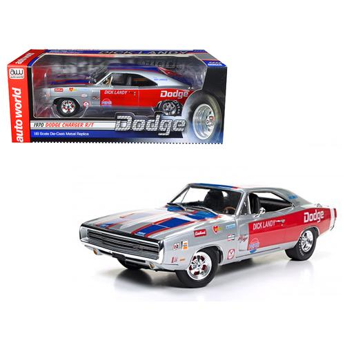 1970 Dodge Charger R/T 426 HEMI Dick Landy Limited Edition to 1002pcs 1/18 Diecast Model Car by Autoworld