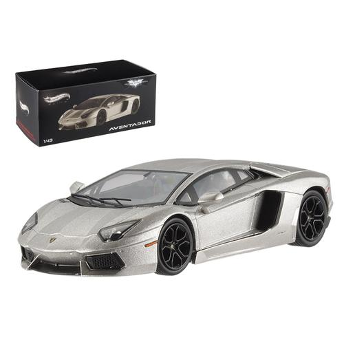 "Lamborghini Aventador LP700-4 ""The Dark Knight Rises"" Elite Edition 1/43 Diecast Model Car by Hotwheels"