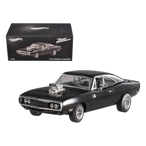 "1970 Dodge Charger Elite Edition ""The Fast & Furious"" Movie 2001 1/43 Diecast Car Model by Hotwheels"