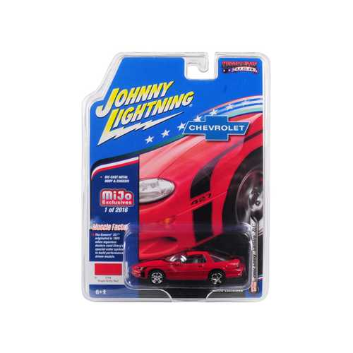 "2002 Chevrolet Camaro ZL1 427 Red ""Muscle Cars USA"" Limited Edition to 2,016 pieces Worldwide 1/64 Diecast Model Car by Johnny Lightning"