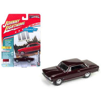 1965 Chevrolet Nova SS Madeira Maroon Poly Limited Edition to 1800pc Worldwide Hobby Exclusive