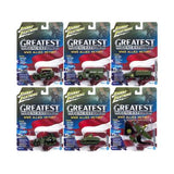 """The Greatest Generation"" Military Release 1 Set A of 6 1/64, 1/87, 1/100, 1/144 Diecast Models by Johnny Lightning"