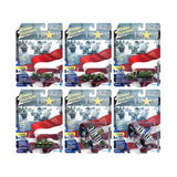 """The Greatest Generation"" (""D-Day"" 75 Years) Military Release 3 Set A of 6 Limited Edition to 2,500 pieces Worldwide 1/64, 1/87, 1/100, 1/144 Diecast Models by Johnny Lightning"