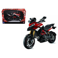 Ducati Multistrada 1200 S Pikes Peak Motorcycle 1/12 Diecast Model by New Ray