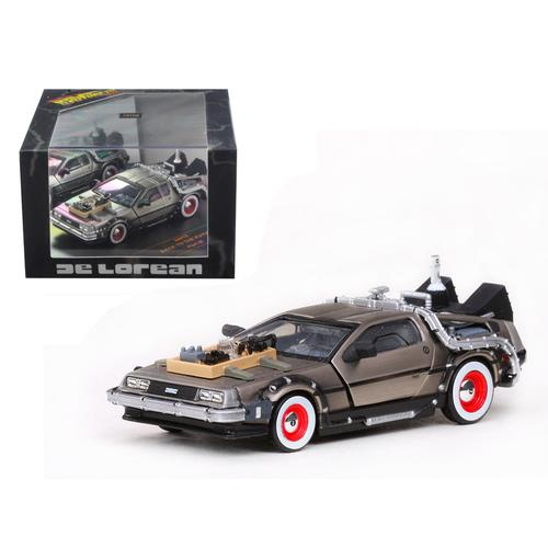 De Lorean Back To The Future Part 3 1/43 Diecast Car Model by Vitesse