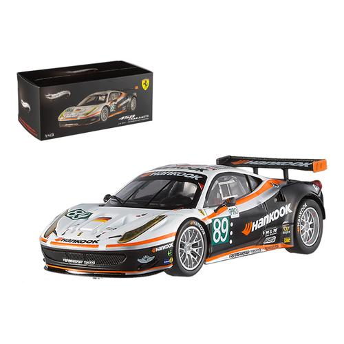Ferrari 458 Italia GT2 #89 LM 2011 Farnbacher Elite Edition 1/43 Diecast Model Car by Hotwheels