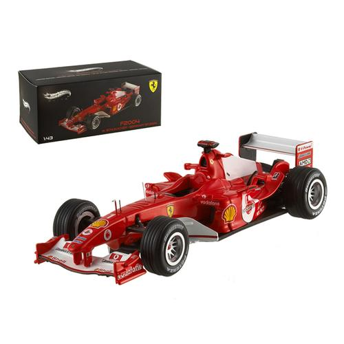 Ferrari F2004 Michael Schumacher Germany GP 2004 Elite Edition 1/43 Diecast Model Car by Hotwheels