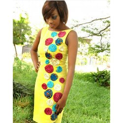 SPIRAL DRESS BY LOLA BUTTONS
