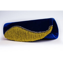 Saphire Blue Evening Clutch