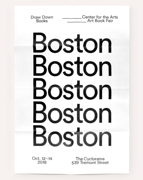 Boston Art Book Fair Poster (2018)
