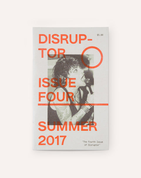 Disruptor - Issue Four