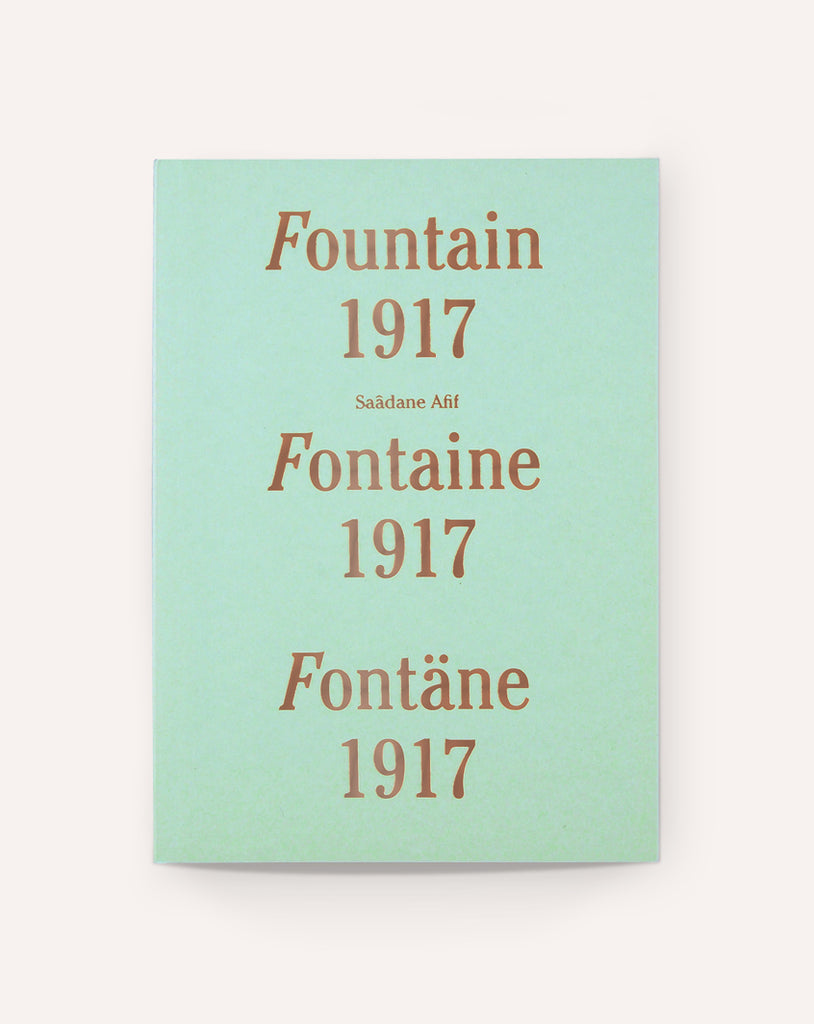 Fountain 1917, Fontaine 1917, Fontäne 1917