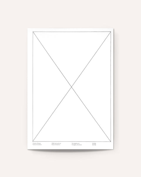 2016 Graphic Design Festival Scotland Internatonal Poster Exhibition Catalogue