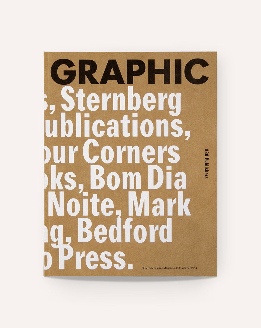 Graphic 30: Publishers