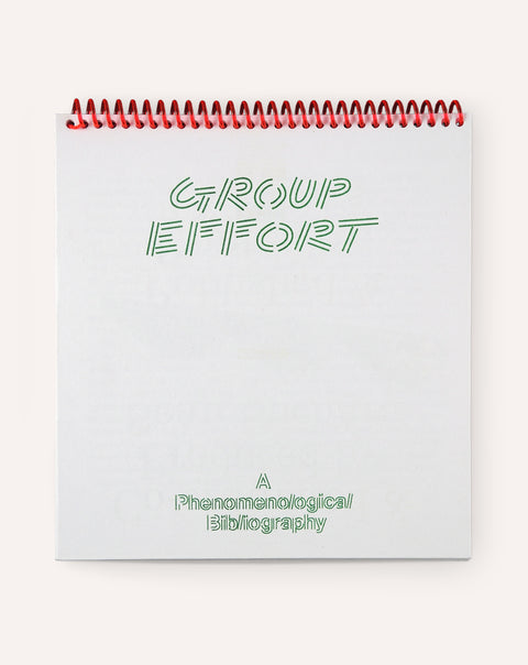 Group Effort: A Phenomenological Bibliography
