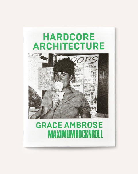 Hardcore Architecture: Grace Ambrose