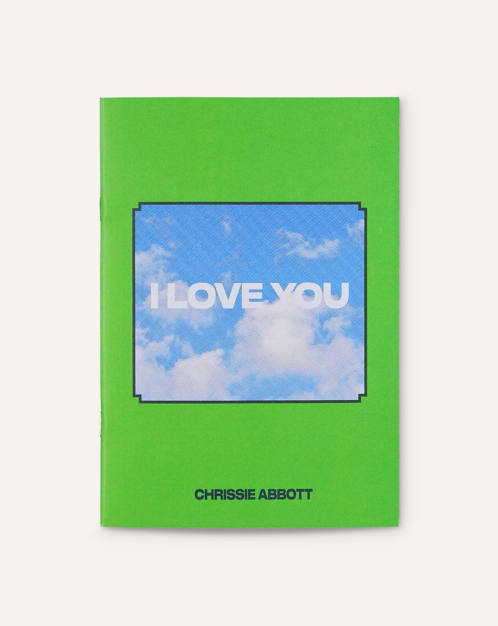 I LOVE YOU / Chrissie Abbott