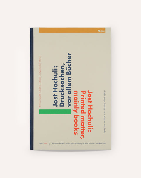 Jost Hochuli: Printed Matter, Mainly Books