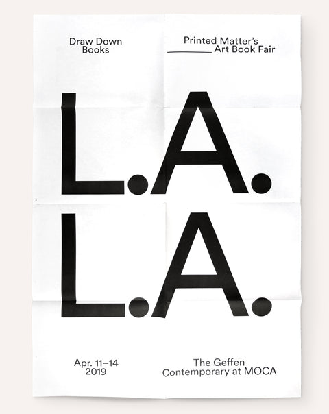 LA Art Book Fair Poster (2019)