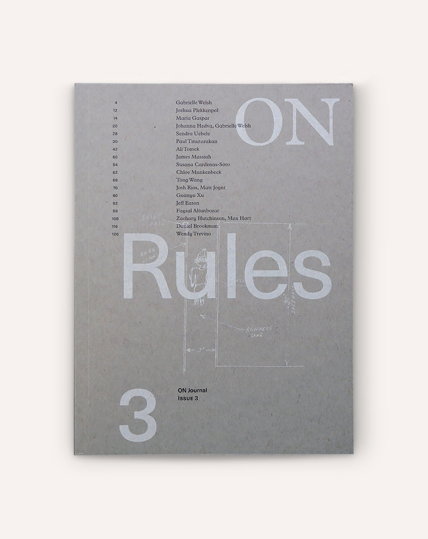 ON Rules (ON Journal, Issue 3)