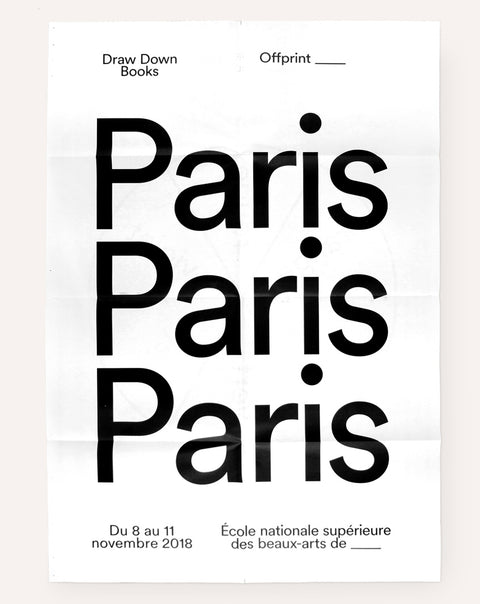 Offprint Paris Poster (2018)