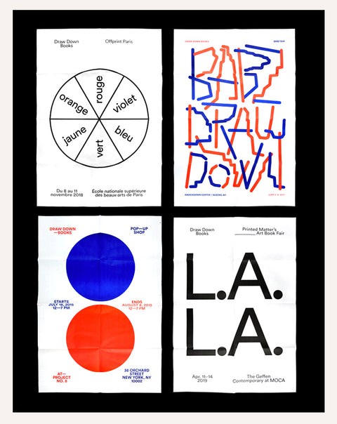 Draw Down 10-Poster Pack